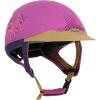 FOUGANZA Reithelm Safety violett, Größe: M