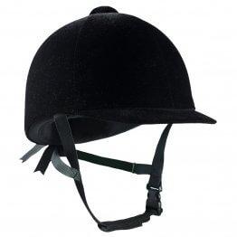 Horze InCase Samt-Helm